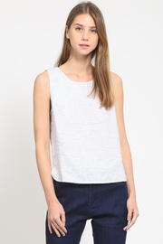 Movint Back Button-Down Top - Front cropped