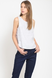 Movint Back Button-Down Top - Front full body