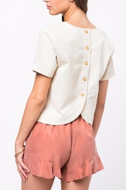 Movint Back Button-Down Top - Product Mini Image