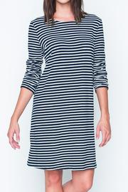 Movint Back Button Striped Dress - Product Mini Image