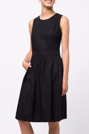 Movint Back Crossed Detailed Dress - Front cropped
