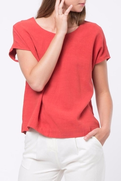 Shoptiques Product: Back-Hole Detail Top