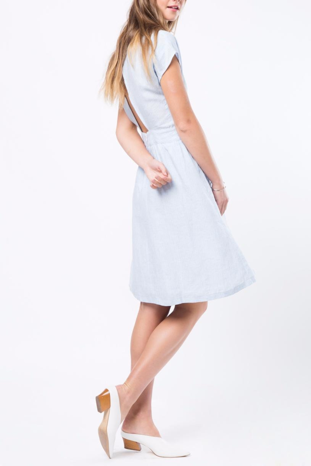 Movint Simple Flowy Dress - Front Full Image