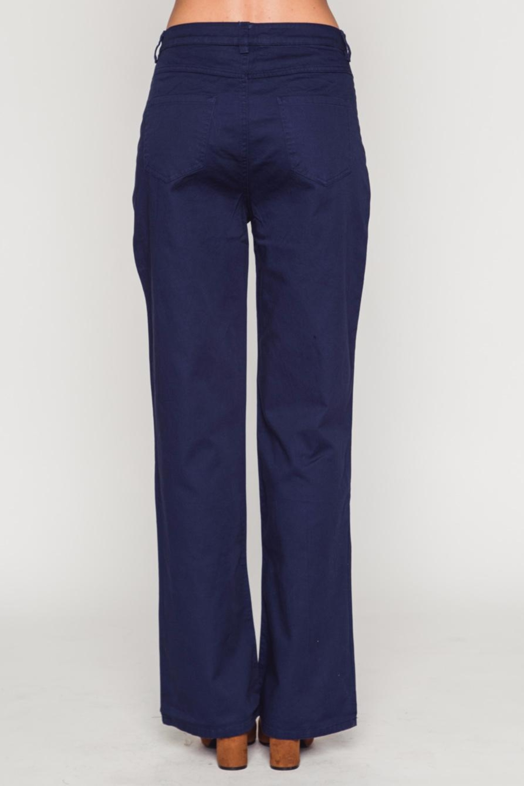 Movint Bell Bottom Pants - Side Cropped Image