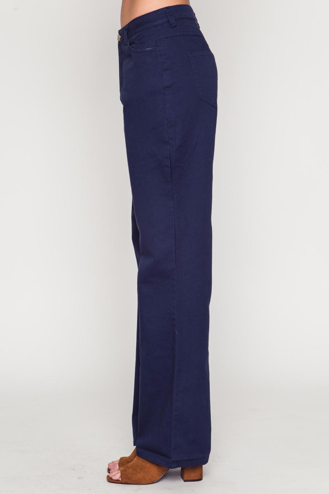 Movint Bell Bottom Pants - Front Full Image