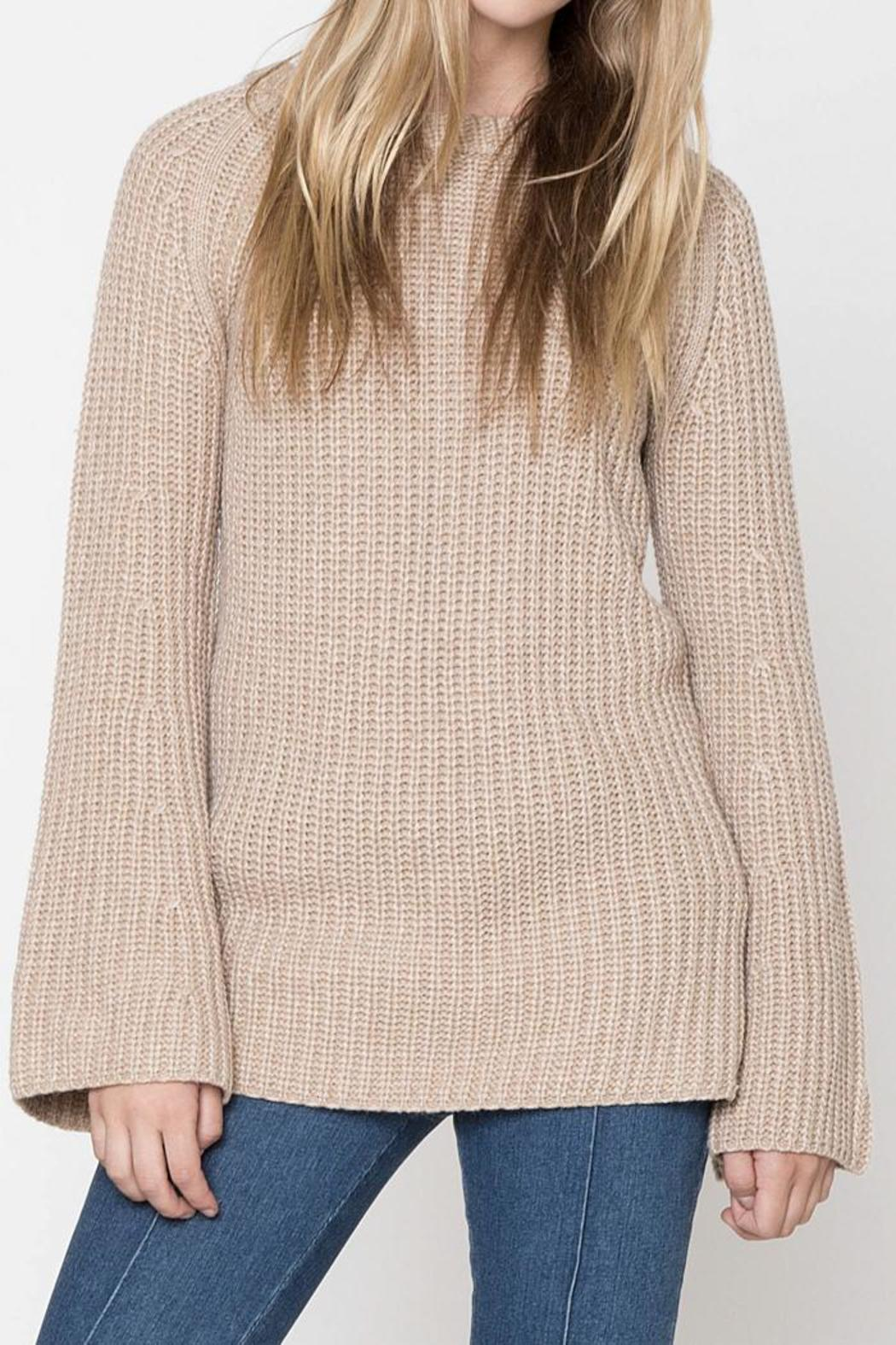3e2d490dba14c2 Movint Bell-Sleeve Pullover Sweater from California by Mo Vint ...