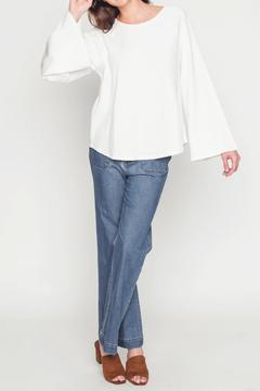 Shoptiques Product: Bell Sleeve Sweatshirt