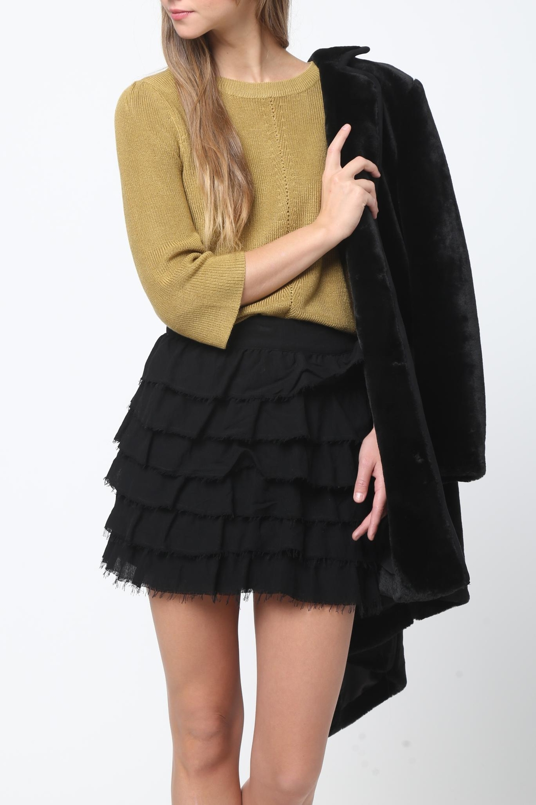 Movint Bell Sleeve Sweater - Side Cropped Image