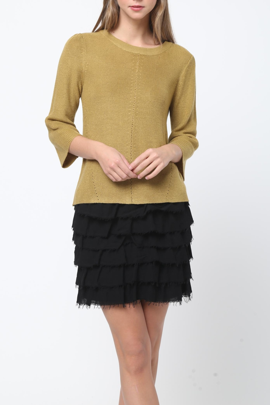 Movint Bell Sleeve Sweater - Main Image