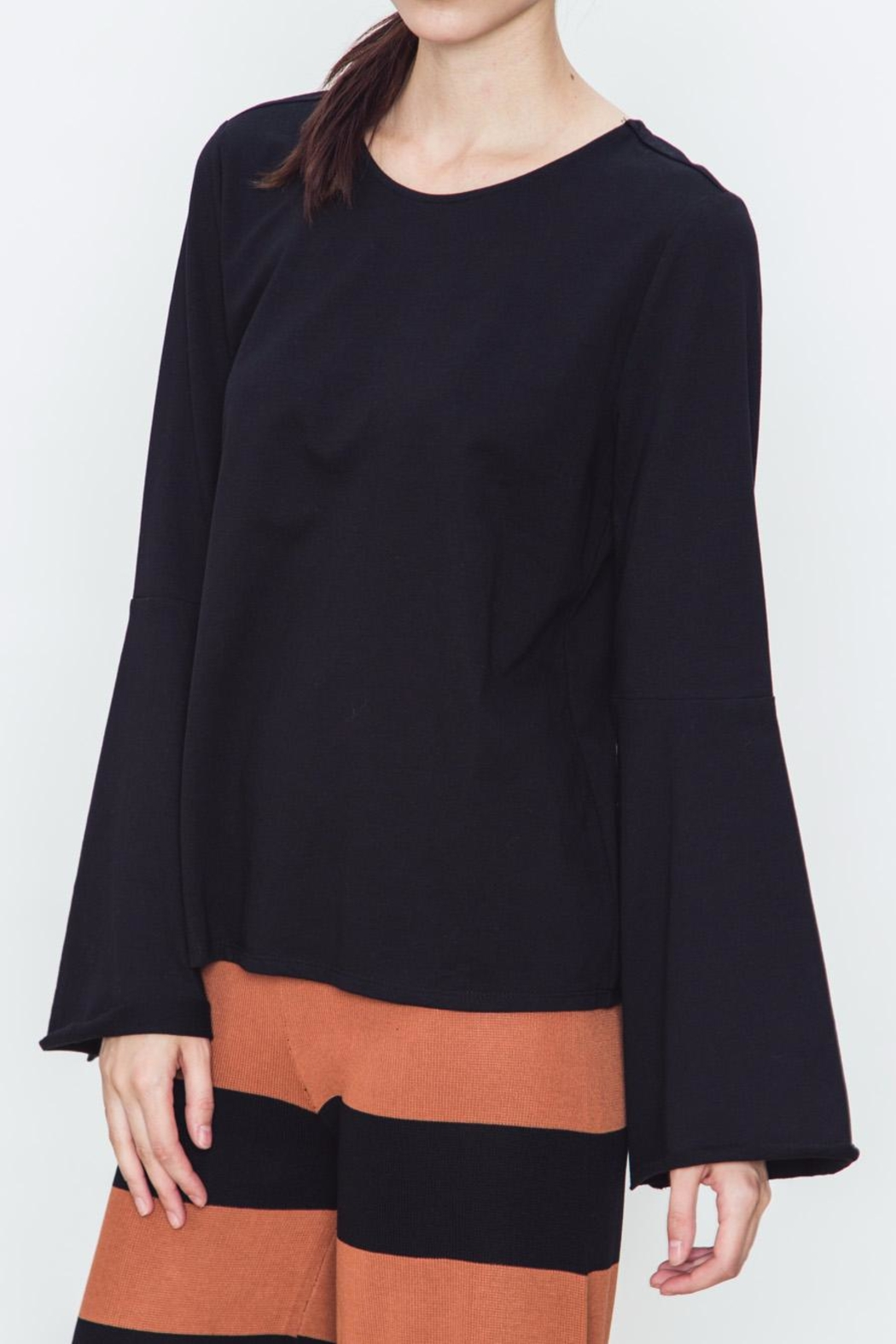 Movint Bell Sleeve Top - Front Full Image