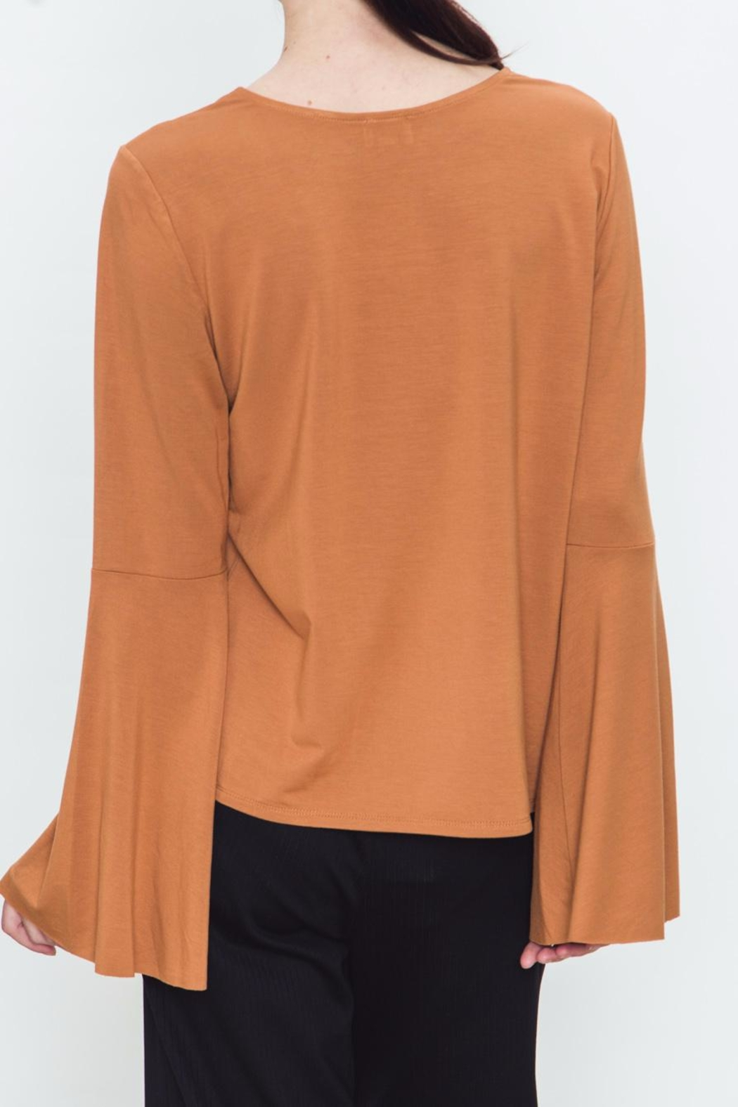 Movint Bell Sleeve Top - Side Cropped Image