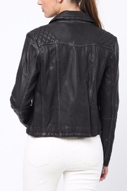 Movint Bike Leather Jacket - Front full body