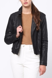 Movint Bike Leather Jacket - Front cropped