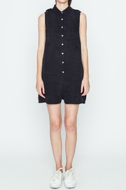 Movint Black Boxy Romper - Front cropped