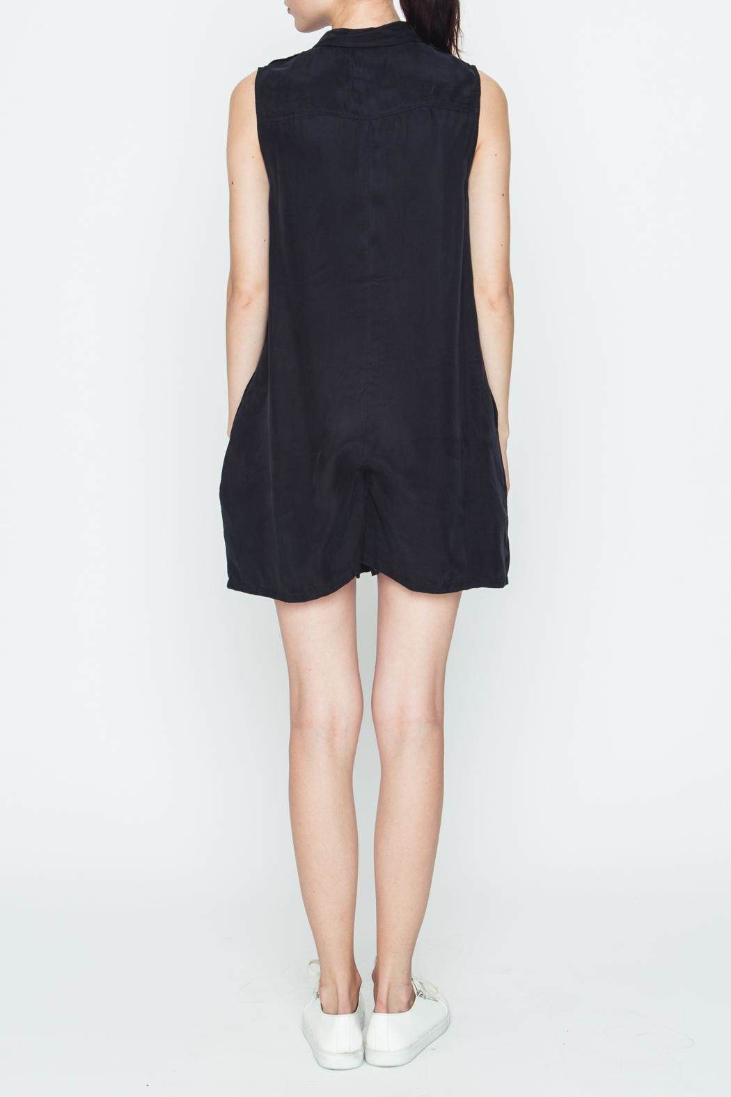 Movint Black Boxy Romper - Side Cropped Image