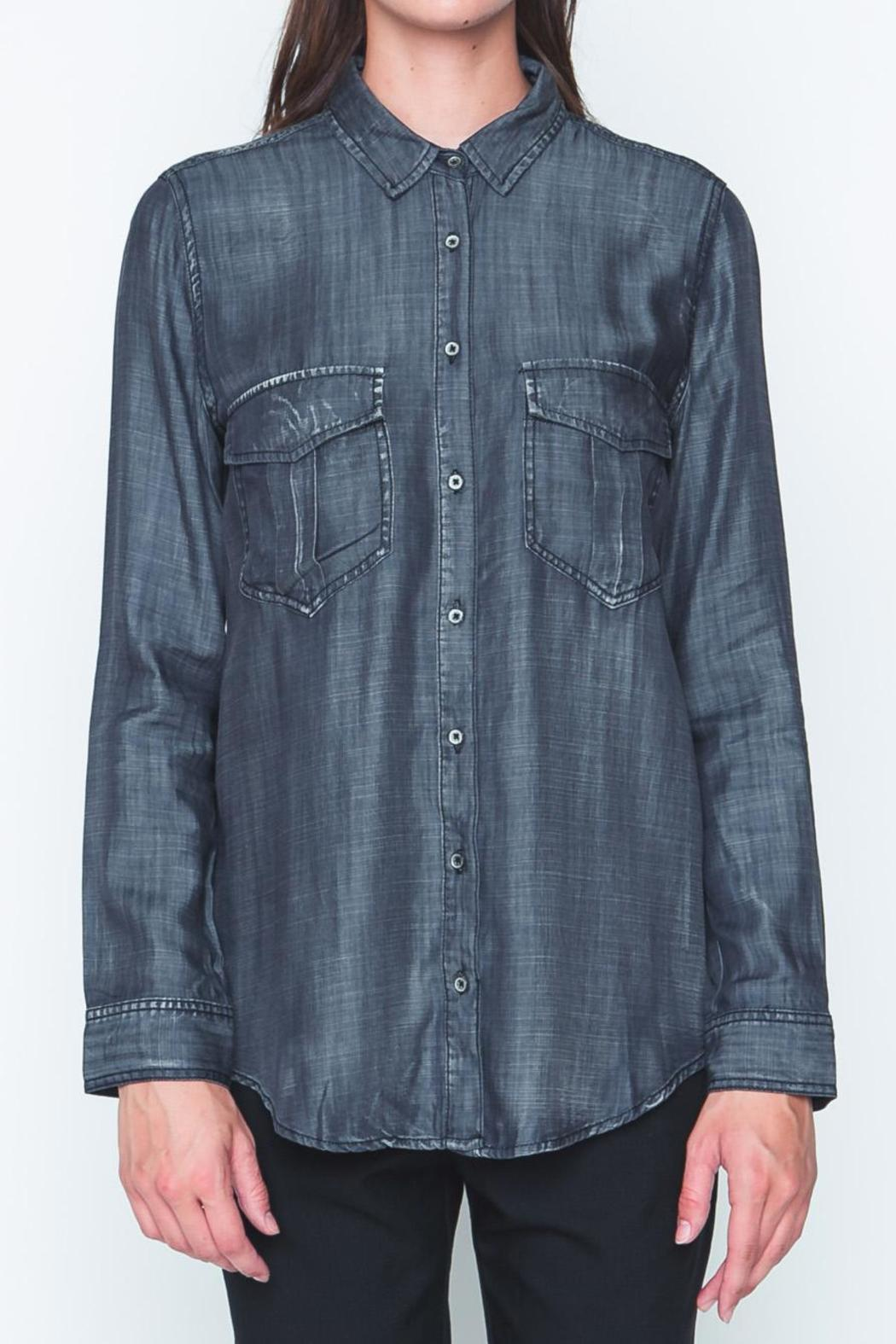 Movint Black Denim Shirt - Main Image