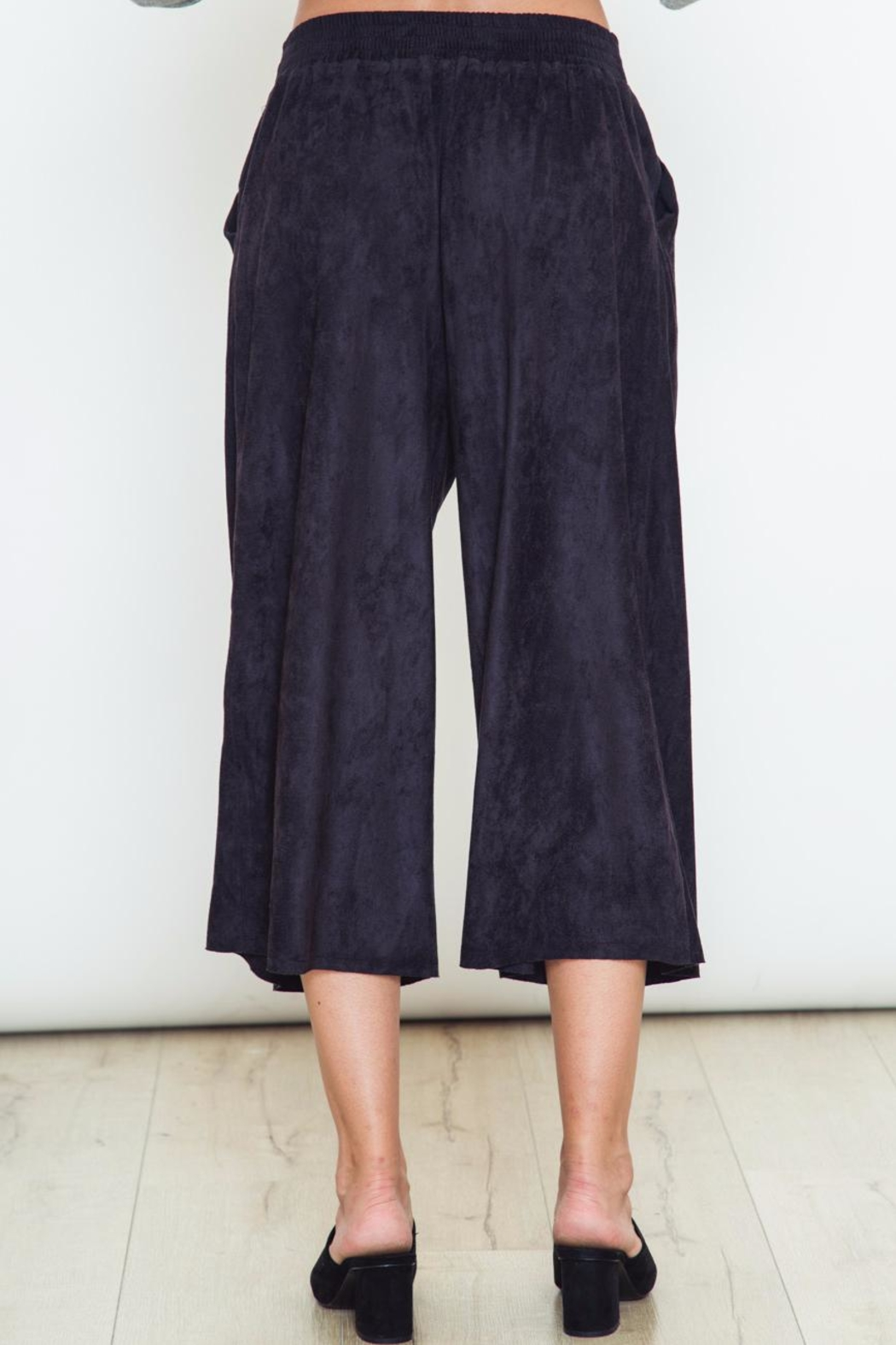 Movint Navy Blue Pants - Side Cropped Image