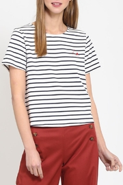 Movint Boat Neck Tshirt - Front cropped