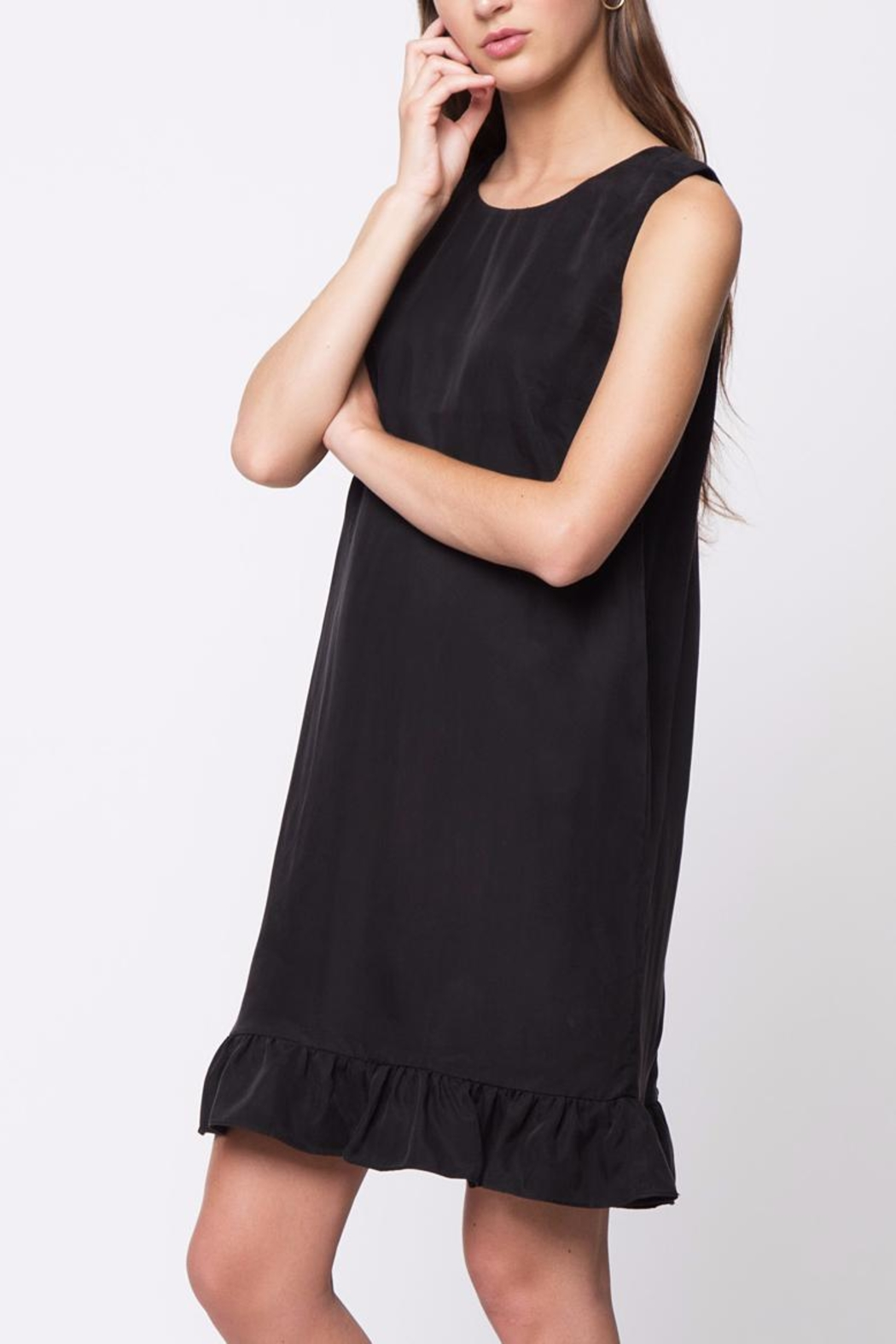 Movint Ruffle Detail Dress - Back Cropped Image