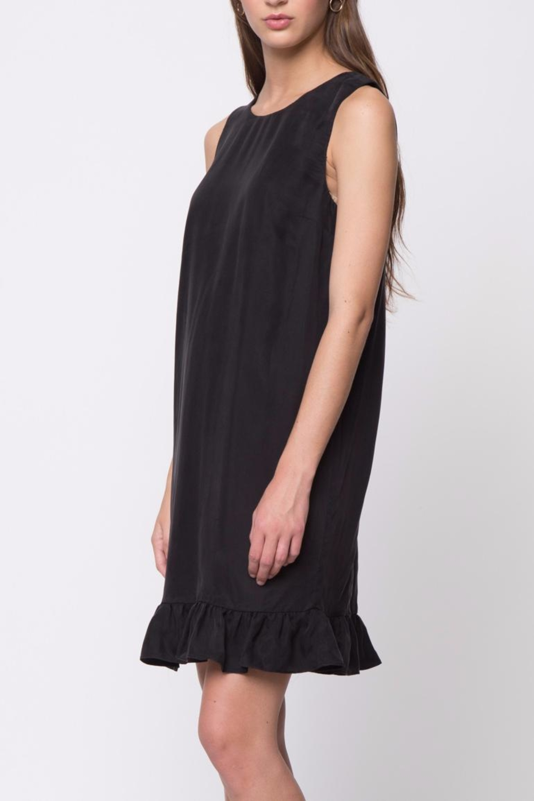 Movint Ruffle Detail Dress - Side Cropped Image