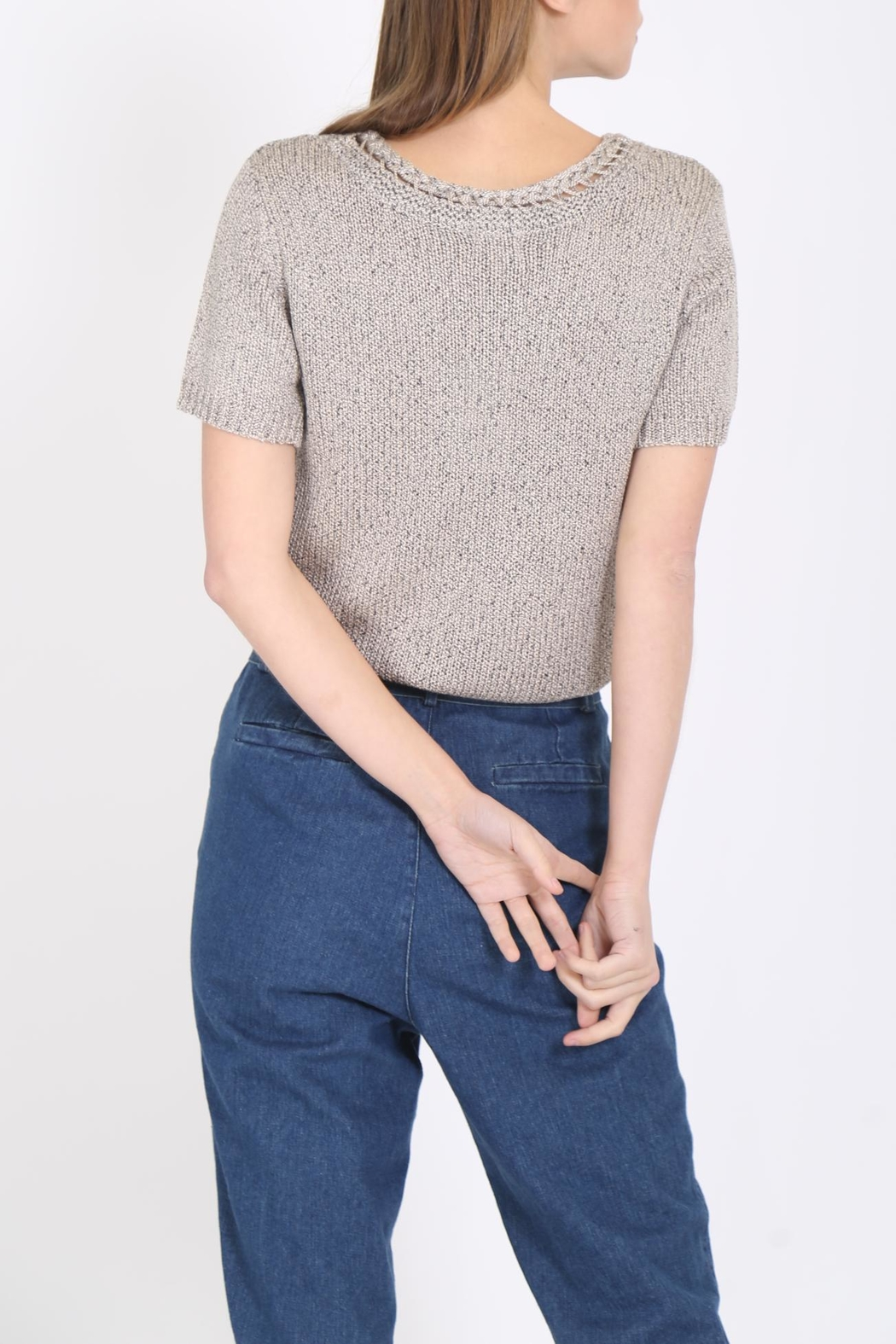 Movint Braid Detailed Sweater - Side Cropped Image
