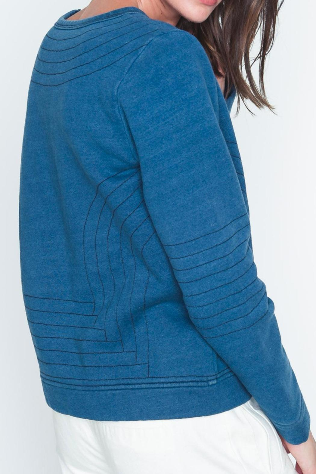 Movint Bristol Quilted Sweatshirt - Side Cropped Image