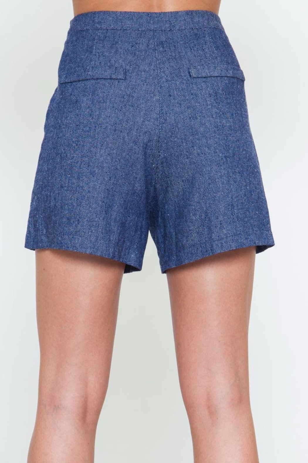 Movint Button Detailed Shorts - Front Full Image