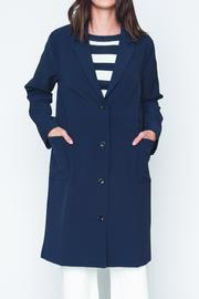 Movint Button Down Coat - Product Mini Image
