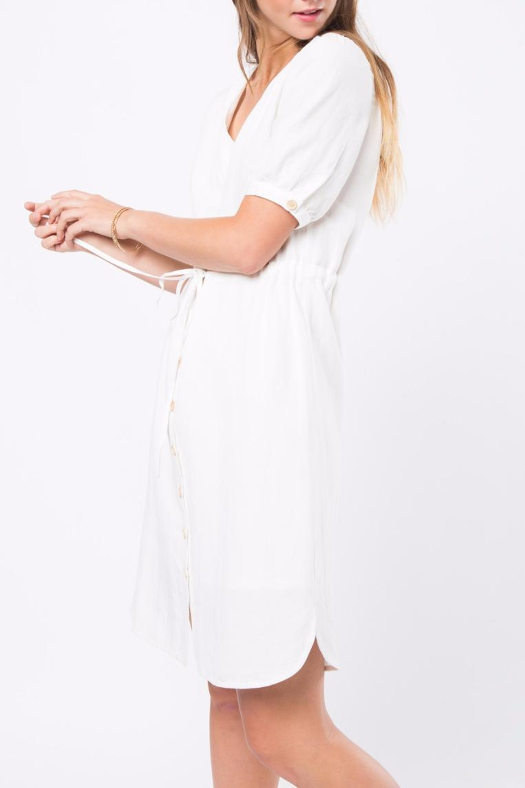 Movint Cara Blanc Dress - Side Cropped Image