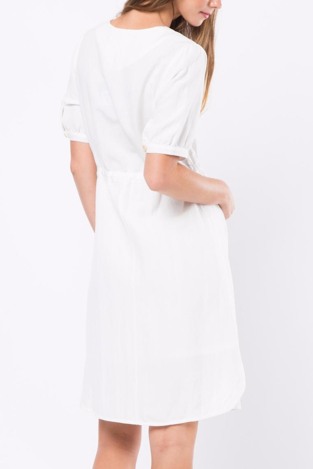 Movint Cara Blanc Dress - Front Full Image