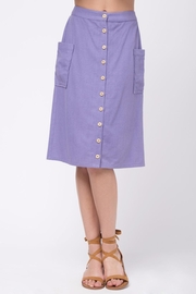 Movint Button Down Skirt - Product Mini Image