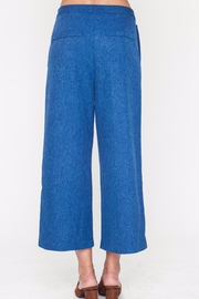 Movint Button Trim Pants - Front full body