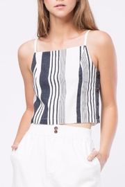 Movint Striped Crop Top - Product Mini Image