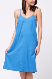 Movint Cami Linen Dress - Front cropped