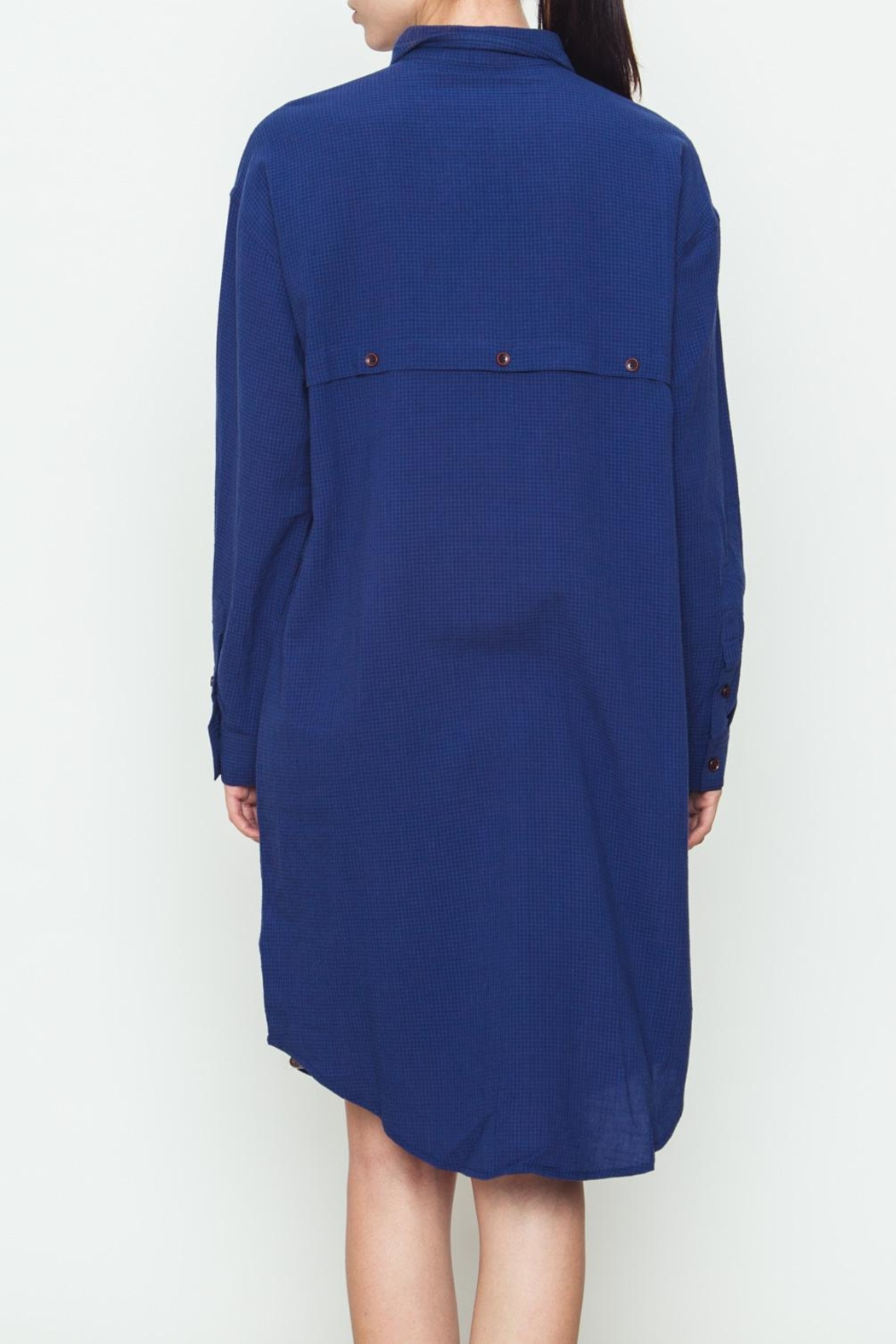 Movint Classic Shirt Dress - Side Cropped Image