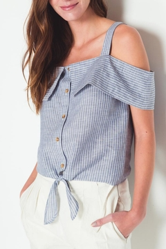Movint Sorrow Cold Shoulder Top - Product List Image