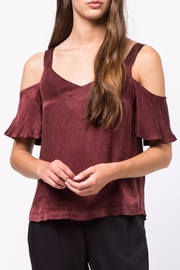 Movint Cold-Shoulder Cami Top - Front cropped