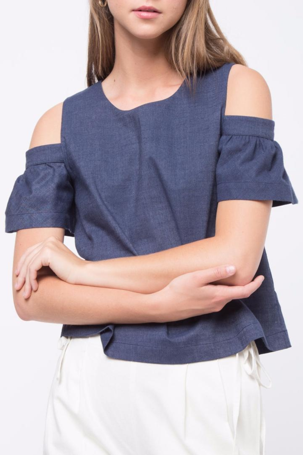 Movint Cold Shoulder Top - Main Image