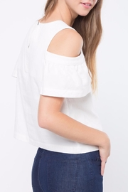 Movint Cold Shoulder Top - Front full body