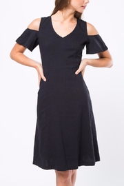 Movint Cold Shoulder Dress - Front cropped