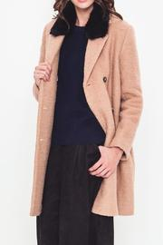 Movint Collared Sienna Coat - Product Mini Image