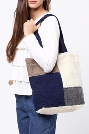 Movint Color Block Shoulder Bag - Front cropped