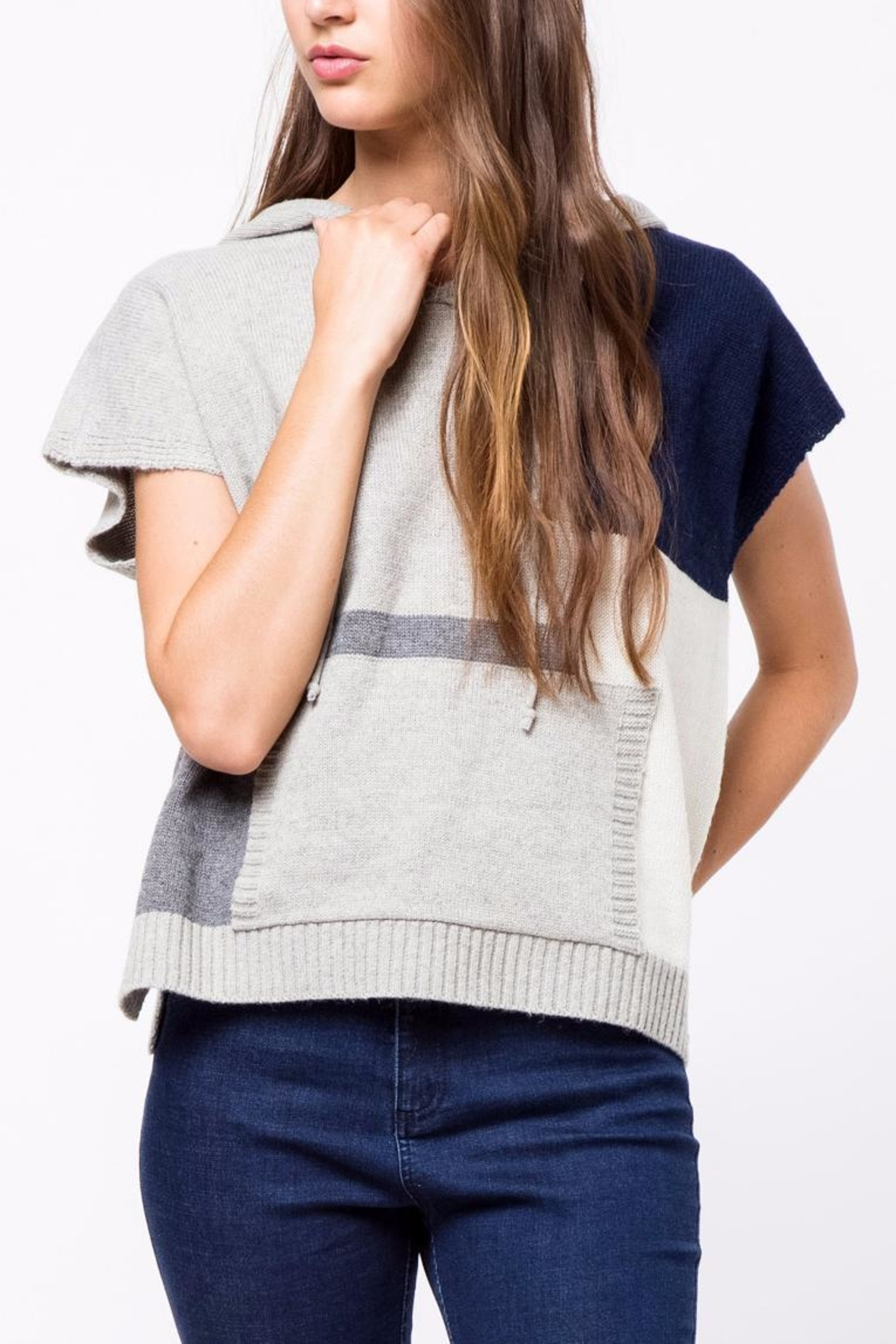 Movint Multicolor Sweater - Front Cropped Image
