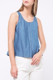 Movint Contrast Binding Detailed Tank - Product Mini Image