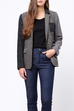Shoptiques Product: Contrast Blocking Blazer