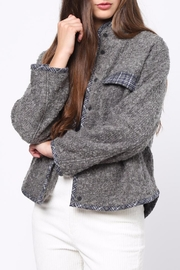 Movint Contrast Piping Jacket - Front cropped