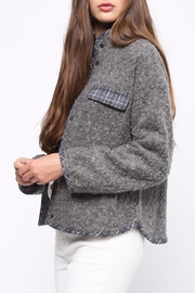 Movint Contrast Piping Jacket - Side cropped