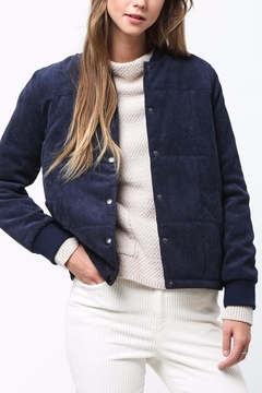 Shoptiques Product: Corduroy Padded Jacket