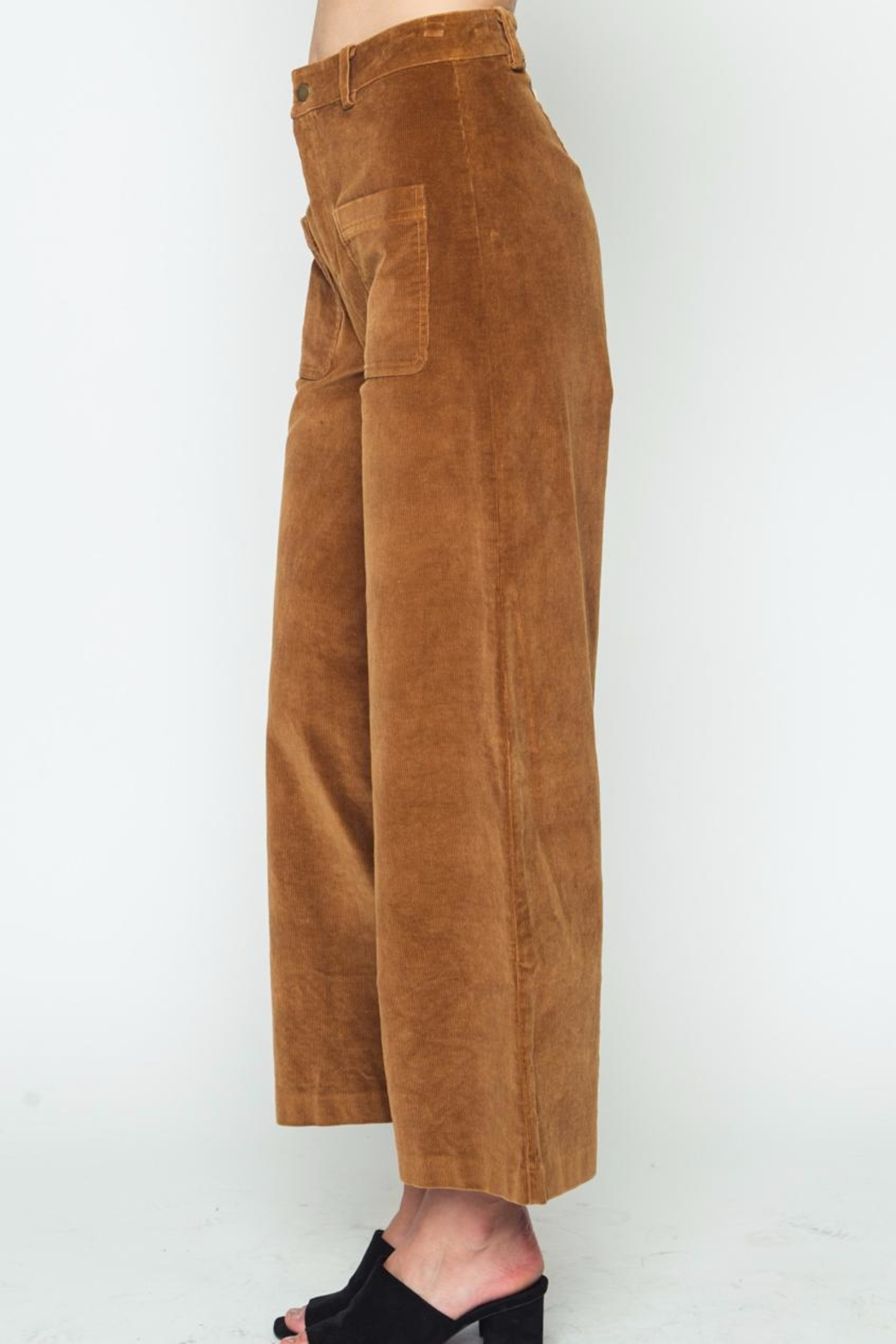Movint Corduroy Pants - Front Full Image