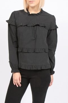 Movint Cotton Ruffle Top - Product List Image